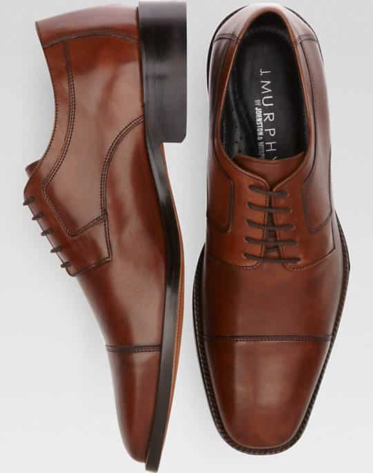 The Proper Care and Cleaning of Men's Johnston and Murphy Shoes