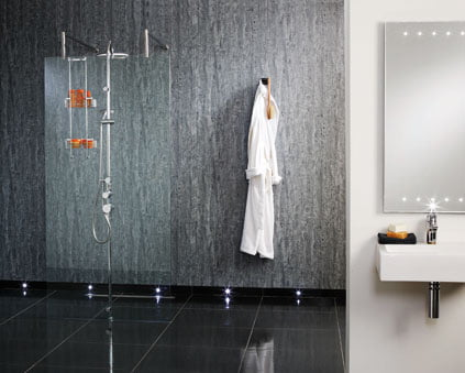 Advantage of keeping a Shower Panel